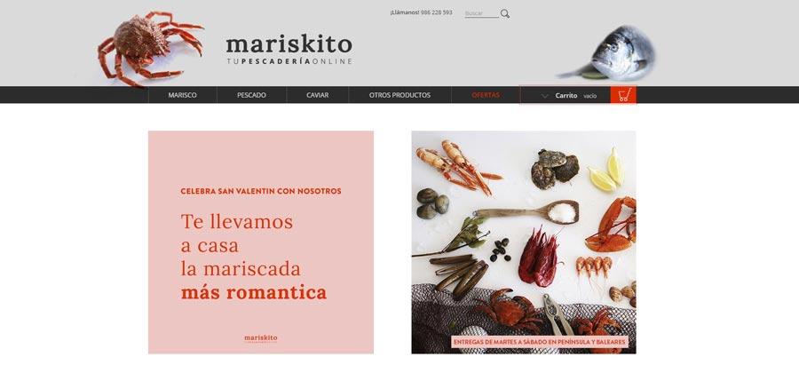 Mariskito: Comprar marisco y pescado fresco online